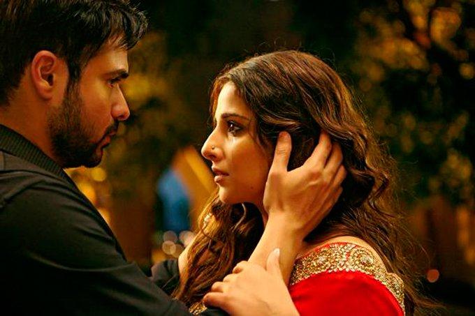Emraan Hashmi and Vidya Balan in Hamari Adhuri Kahani