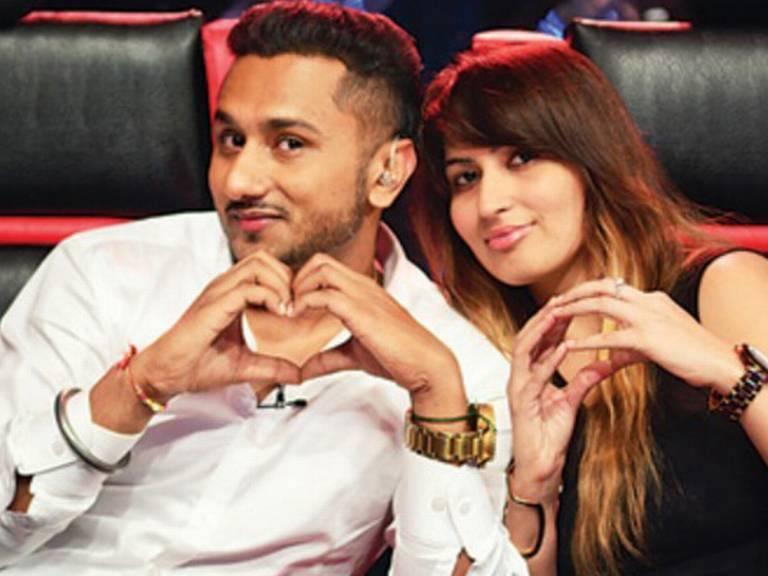 Yo Yo Honey Singh and his wife Shalini