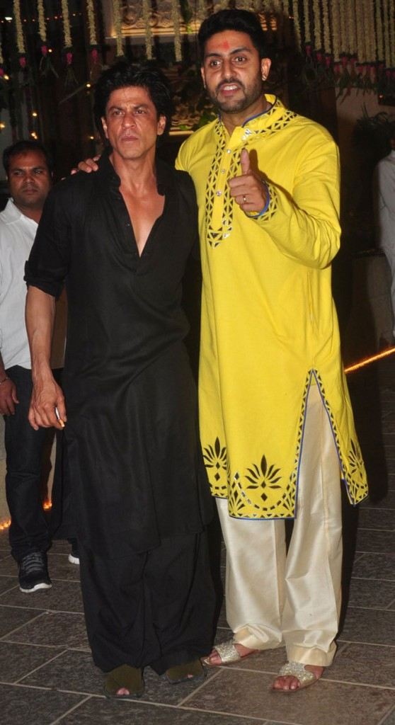 Shahrukh Khan and Abhishek