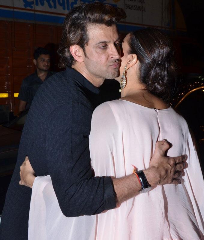 Hrithik Roshan and Neha Dhupia
