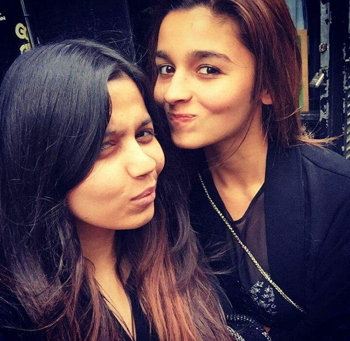 Alia bhatt has taken a vacation with her sister shaheen shaheen and alia bhatt in london source shaheenb instagram thecheapjerseys Images