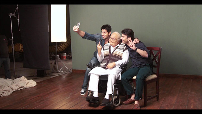 Kapoor And Sons behind the scenes