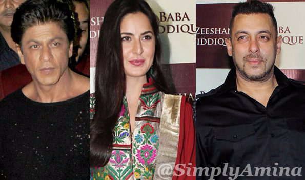 Shah Rukh Kha, Katrina Kaif, Salman Khan