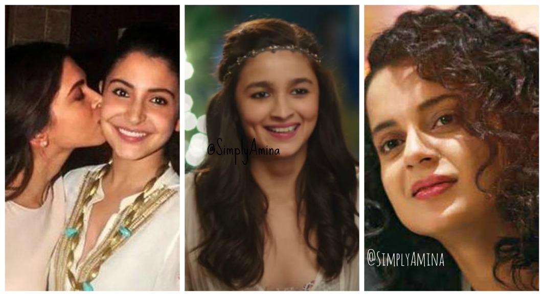 Deepika, Anushka, Kangana, Alia