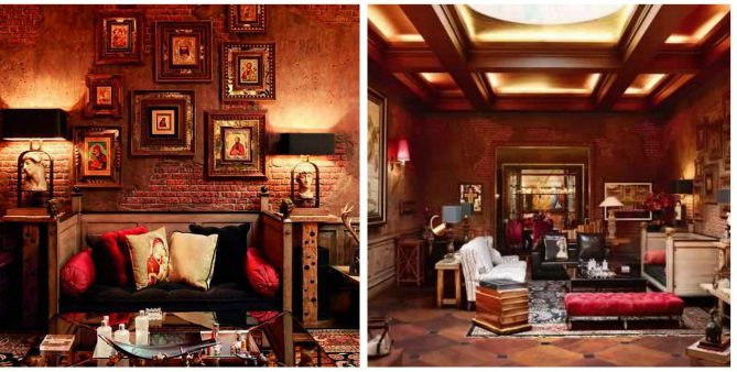 Inside photos of shah rukh khan gauri s mannat mansion Shahrukh khan home inside