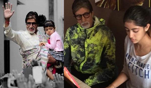 Amitabha Bachchan, Aradhya Bachchan, Navya Nanda