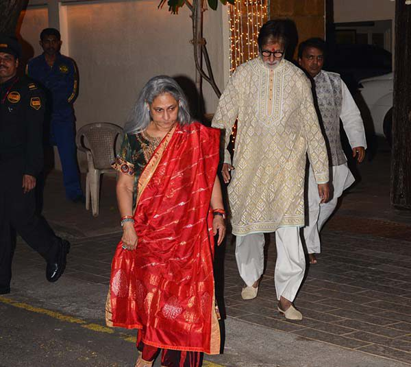Jaya Amitabh, Abhishek Bachchan