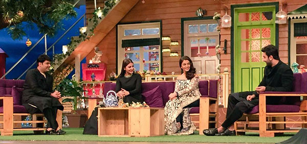 Anushka Sharma, Aishwarya Rai Bachchan, Ranbir Kapoor