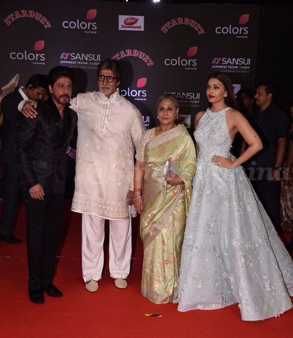 Shah Rukh Khan, Amitabh Bachchan, Jaya Bachchan, Aishwarya Rai Bachchan