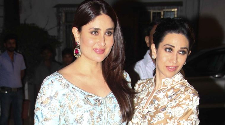 Kareena Kapoor Khan Sister Karisma Twin In Olive Green Simplyamina